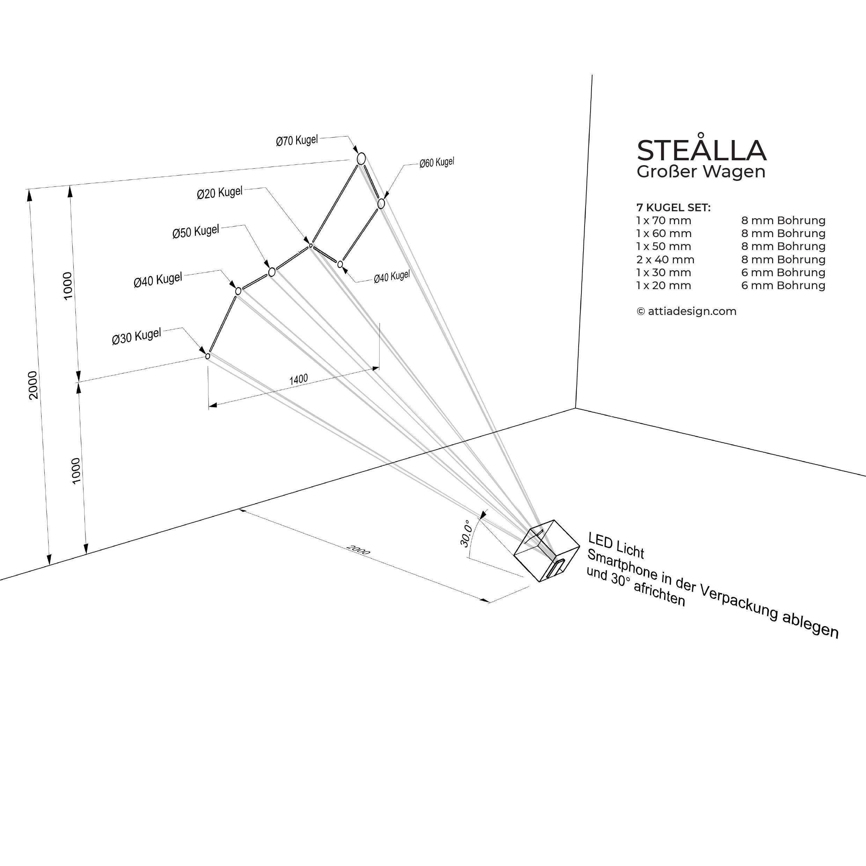 Anleitung Garderobe Stella Großer Wagen